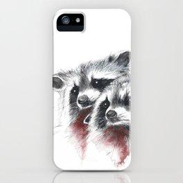Raccoons I iPhone Case