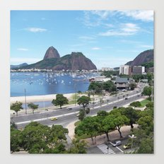 Rio de Janeiro Landscape Canvas Print