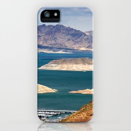 Lake Mead, Hoover Dam, Nevada iPhone Case
