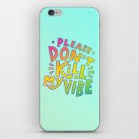 kendrick lamar iPhone & iPod Skins featuring Kendrick Lamar for Kids by Josh LaFayette