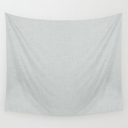 Plain grey fabric texture Wall Tapestry