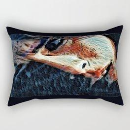 Freezer Burn Rectangular Pillow