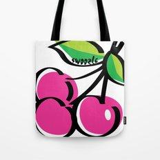 Cherry Swoozle Tote Bag