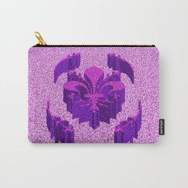 Florentine Purple Garden Carry-All Pouch