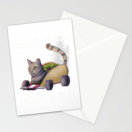 Tacocat Shirt Racecar Spelled Backwards Palindrome Mexican T-Shirt Stationery Cards