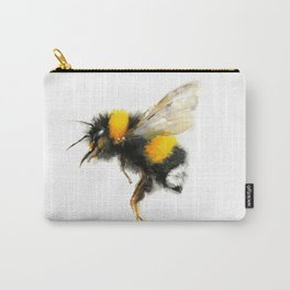 Yellow Bumble Bee Carry-All Pouch