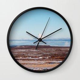 Islande photo Wall Clock