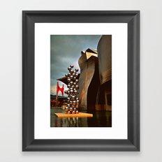 Museo Guggenheim Framed Art Print