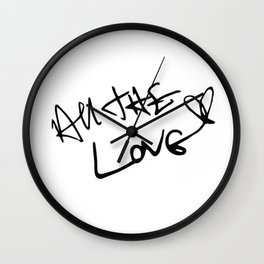 Harry Styles - All the Love Wall Clock