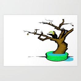 Tuki Art Print