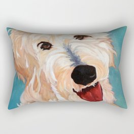 Our Dog Floyd Rectangular Pillow