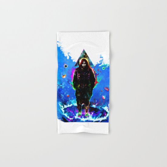 libra... Hand & Bath Towel