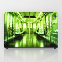 subway iPad Cases featuring Subway by Jacquie Fonseca