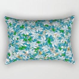 Florals for All, Spring Rectangular Pillow