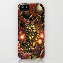 THE FUCKING FROGMAN iPhone Case