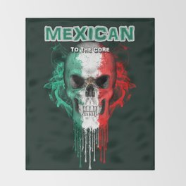 To The Core Collection: Mexico Throw Blanket