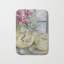 Morning Tea for Two Bath Mat