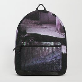 Lost and Lonely Girl in Quarantine - Holga Film Photograph Backpack