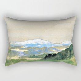Landscape - Arthur Bowen Davies Rectangular Pillow