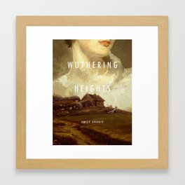 19th Century Women Writers - Wuthering Heights Framed Art Print