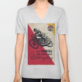 The Thrill Unisex V-Neck