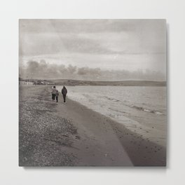 Weymouth Walkers Metal Print