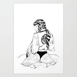 Neptune Gi Art Print
