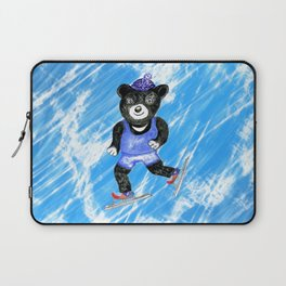Skating bear Laptop Sleeve