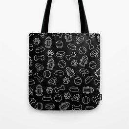 Dog Lover Animal Pattern Tote Bag