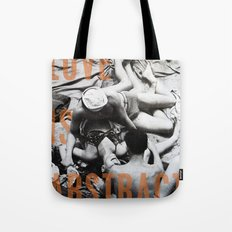 Love Is Abstract Tote Bag