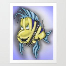 Flounder Art Print