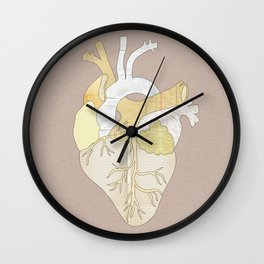 A Heart Unwritten Wall Clock