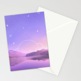 Sleeping Planet Stationery Cards