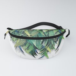 """Spring Forest of Surreal Leaf"" Fanny Pack"