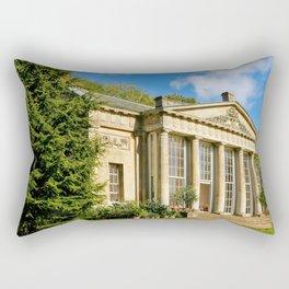 Temple Greenhouse (V2) Rectangular Pillow