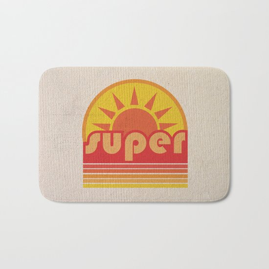 super duper Bath Mat