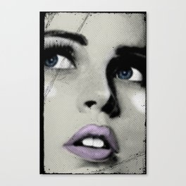 Pop Glance Canvas Print