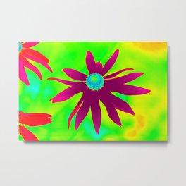 Thermal art 086 Metal Print