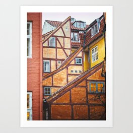 Scandinavian Architecture. Art Print