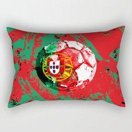 football Portugal  Rectangular Pillow