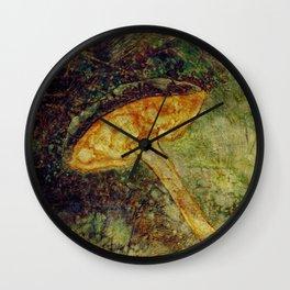 MUSHROOM WALTZ Wall Clock