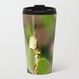 Grasshopper Spying Travel Mug