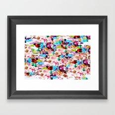 Nasty Girl's Camouflage Framed Art Print