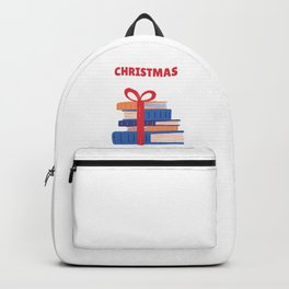 All I Want For Christmas is Books Ugly Christmas Sweater Tee Backpack