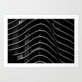 Aqua I Art Print