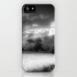 The Peaceful Farm Infrared  iPhone Case