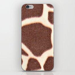 Giraffe Animal Pattern Print iPhone Skin