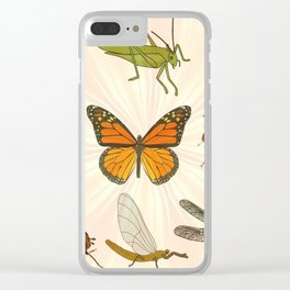 Insects on Parade Clear iPhone Case