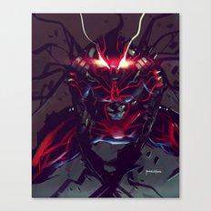 Spiderman Bloodhound Fanart Canvas Print