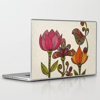 valentina Laptop & iPad Skins featuring In the garden by Valentina Harper